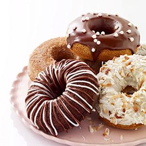 Chocolate Cake Doughnuts