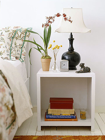 Bedside Tables Six Different Looks To Match Your Style