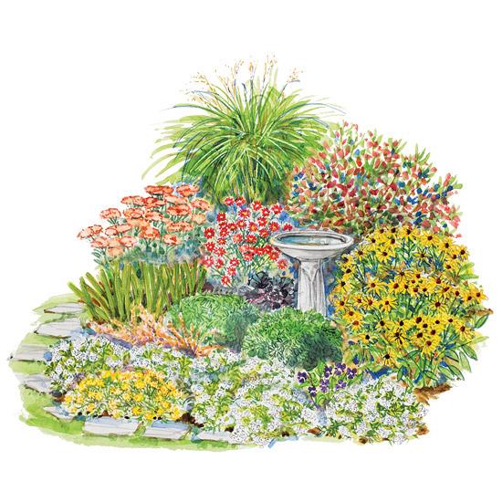 Cottage Flower Gardens: Autumn Landscape Ideas