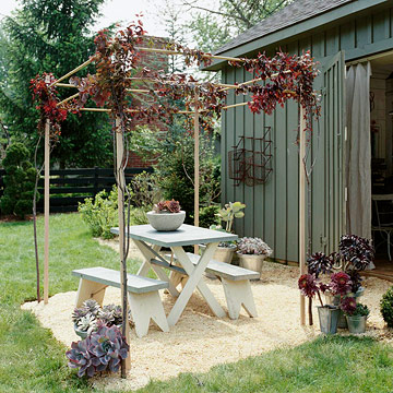 Construct an Outdoor Room