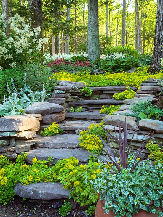 Hillside Landscaping Ideas on Backyard Hill Landscaping Ideas  id=94071