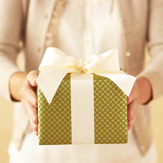 Image result for wrapped christmas gift