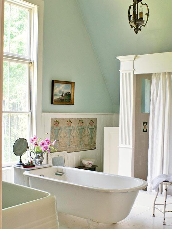 Country-Cottage Bathroom Ideas on Rural Bathroom  id=85337