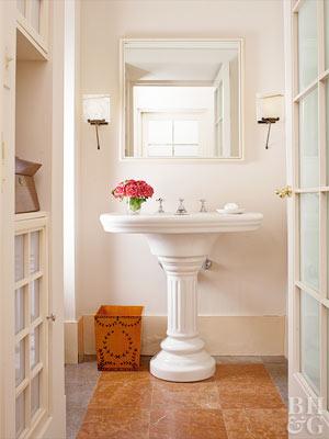 best bathroom flooring options