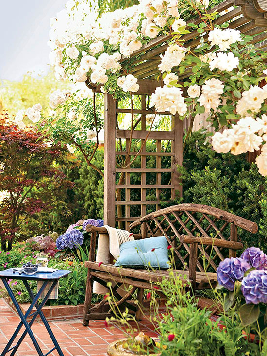 Small-Space Landscaping Ideas on Small Landscape Garden Ideas id=64353