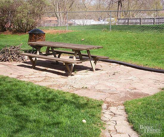 Cheap Patio Ideas on Diy Backyard Patio Cheap  id=35068