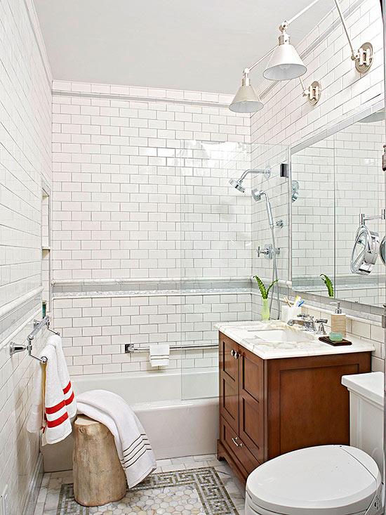 Small Bathroom Decorating Ideas on Small Space Small Bathroom Ideas On A Budget id=78038