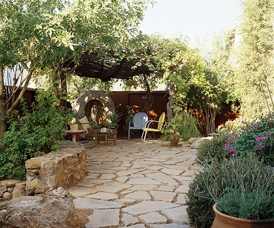 Yards With No Grass on Non Grass Backyard Ideas id=56536