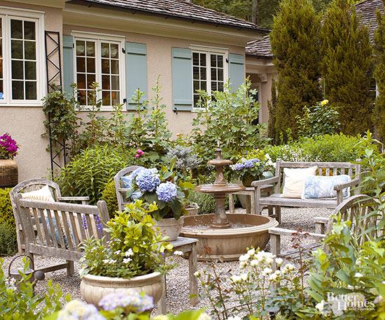 Gravel Patios on Backyard Pebbles Design id=32706
