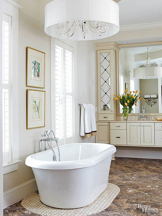 Elegant Bathroom Lighting