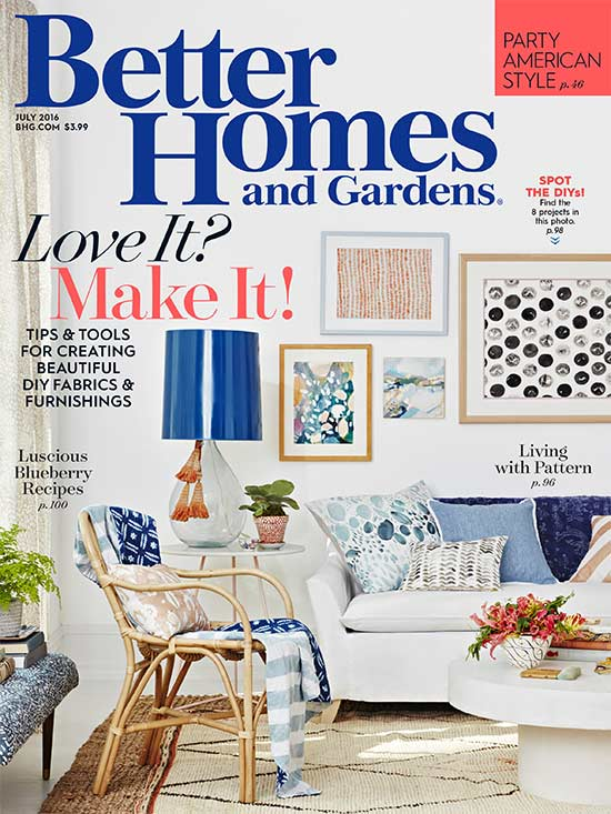 Better Homes Gardens 100 Decorating Ideas Magazine