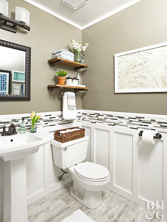 Renovation Rescue: Small Bathroom on a Budget on Small Bathroom Ideas Pinterest id=99175