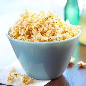 cheese-less italian popcorn recipe