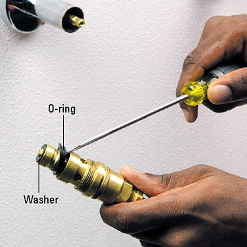 Tub And Shower Stem Compression Faucet Repair And