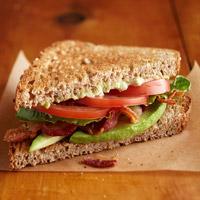 Avocado BLT Sandwiches
