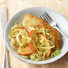 Curried Chicken with Cabbage, Apple, and Onion