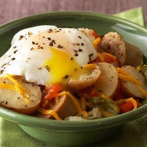 Potato, Sausage, and Egg Breakfast