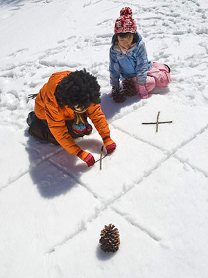 Tic-Tac-Snow