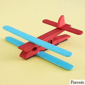 Magnetic Airplane Clip