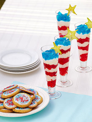 Star-spangled Parfait