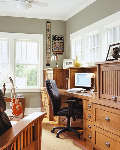 Convert Your Living Room For a Client-Focused Home Office