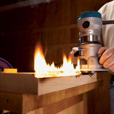 avoiding router burns on wood don t let router bits get you or your