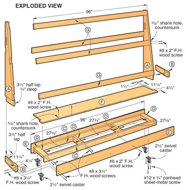 plywood rack plans