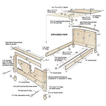 queen bed woodworking plans