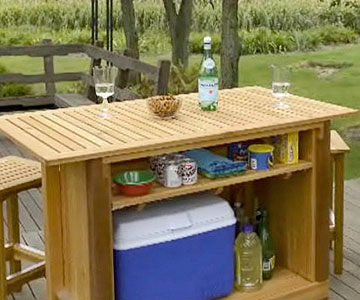 outdoor wood bar plans free diy home bar plans outdoor wood bar plans ...
