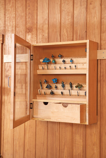 wooden cabinet free plans