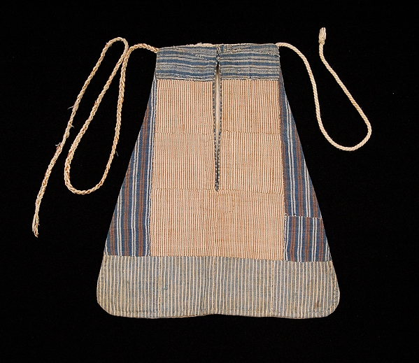 Early 19th Century pocket. Cotton/linen. Metropolitan Museum of Art. 2009.300.5669