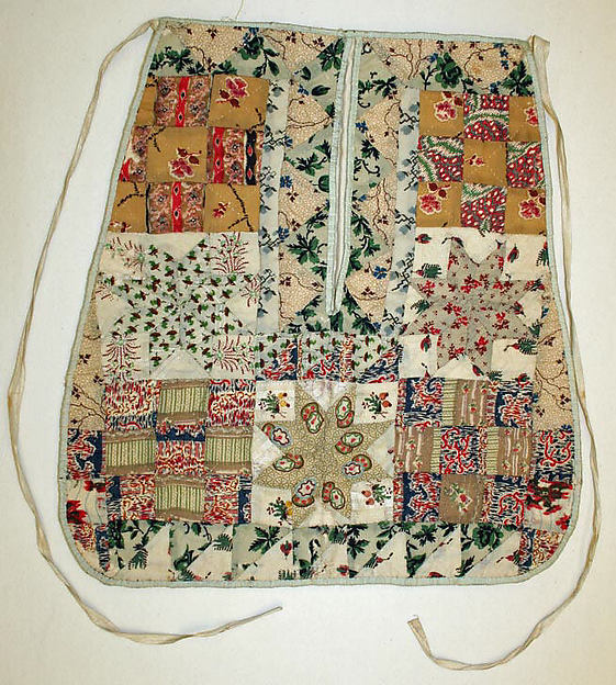 Early 19th Century pocket. Cotton/wool. Metropolitan Museum of Art. C.I.41.161.5