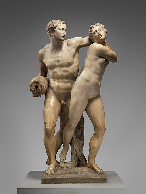 Battista Lorenzi (1527--1594), Alpheus and Arethusa. Alfeo e Aretusa, ca. 1570–74, The Metropolitan Museum of Art, New York