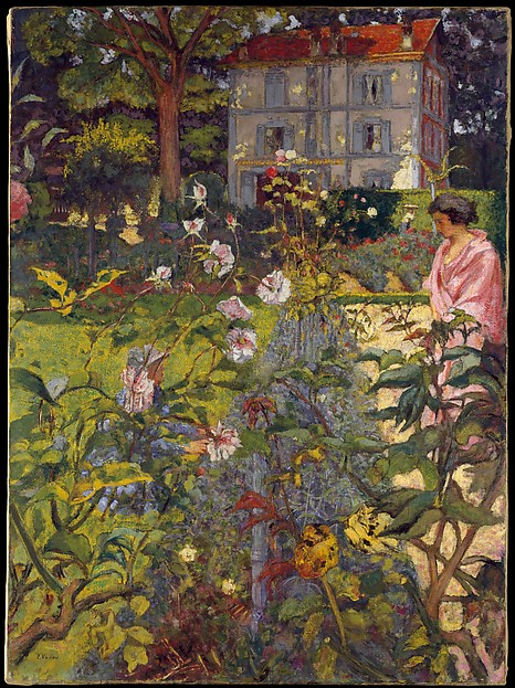Garden at Vaucresson by Edouard Vuillard