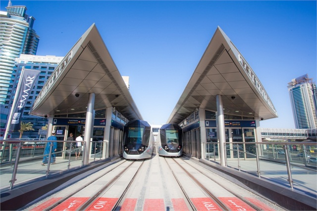 Dubai Tram System Alstoms Innovative Rail Tech Takes Off