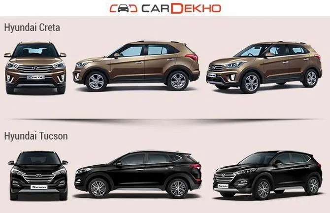 A completely redesigned and updated version of earlier models, the 2020 hyundai santa fe now comes e. Hyundai Creta Vs Hyundai Tucson Vs Hyundai Santa Fe