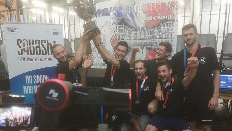 Les Montpelliérains savourent leur premier titre de champion