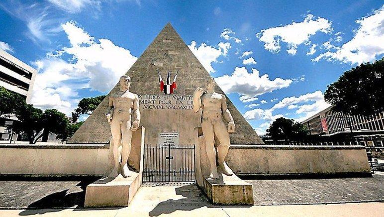 Le mémorial trouvera place à l'entrée du monument aux martyrs de la Résistance.