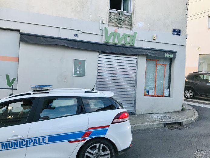 La police municipale effectuait une patrouille dans le secteur de la rue Bonfa ce vendredi après-midi.