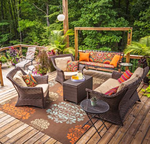 30 Ideas to Dress Up Your Deck | Midwest Living on My Patio Design  id=71808