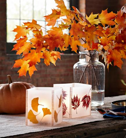 50 Easy Fall Decorating Projects   Midwest Living Fall glow