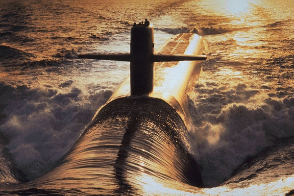 The Navy is planning to replace its aging Ohio-class ballistic nuclear missile submarines, one element of America's nuclear triad that includes strategic bombers and intercontinental ballistic missiles. (US Navy photo)