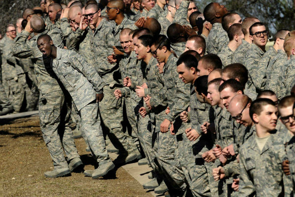 Air Force Basic Training Timeline At A Glance