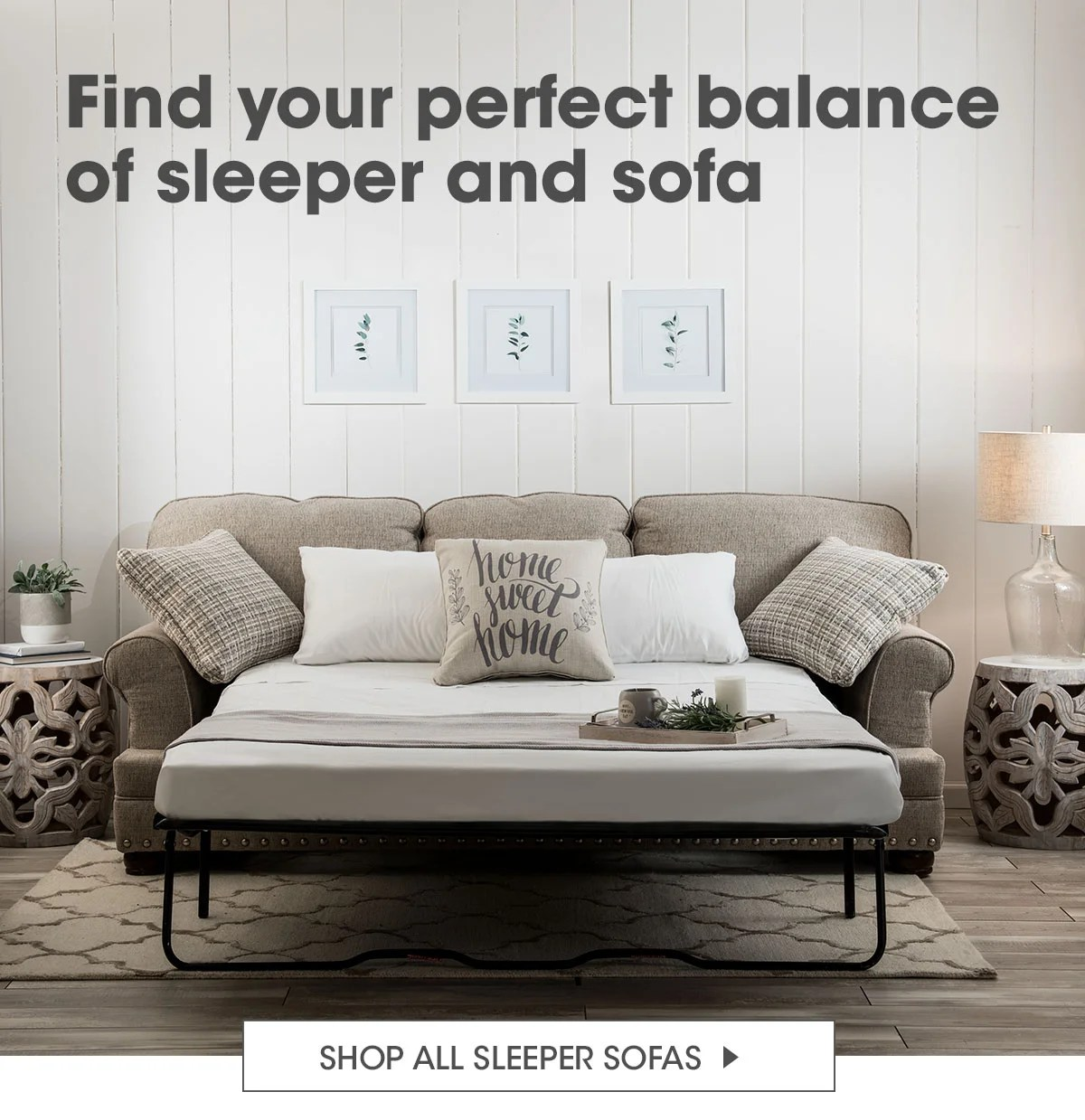 Bobs Discount Furniture Sleeper Sofas Starting At 699 Milled