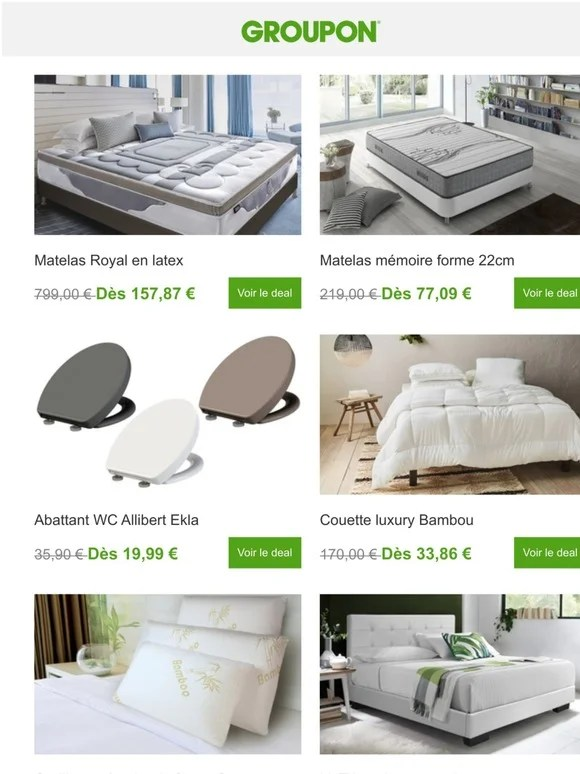 Groupon Fr Email Newsletters Shop Sales Discounts And Coupon Codes Page 39