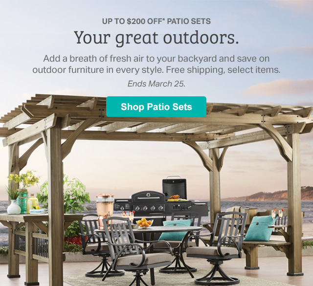 sam s club just in for outdoor living