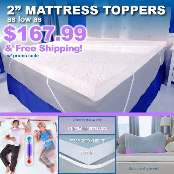 mypillow mattress topper flash sale