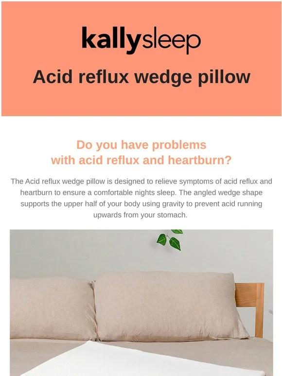 kally acid reflux pillow