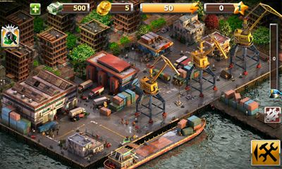 Screenshots of the Crime Story for Android tablet, phone.