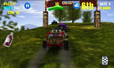Screenshots of the Dust Offroad Racing for Android tablet, phone.